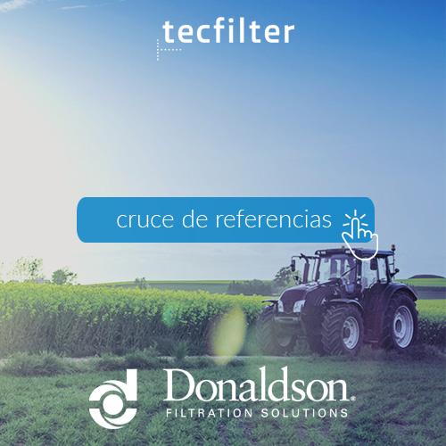 Cruce de referencias filtros donaldson